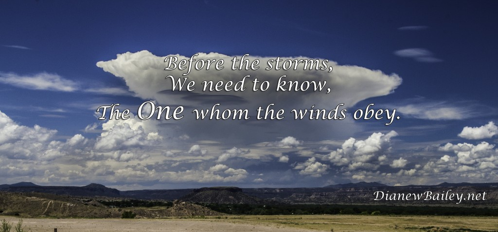 The One wind obeys