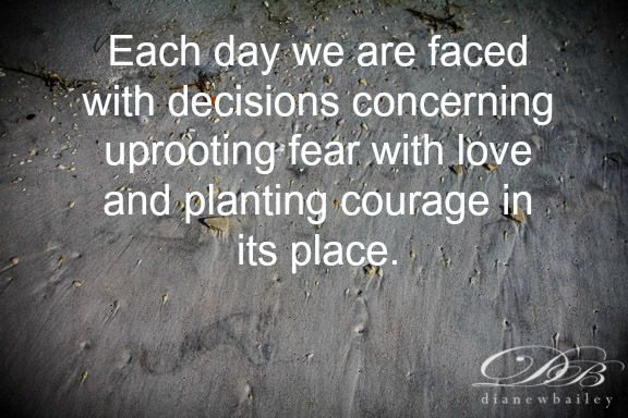 Facing Fear With Love