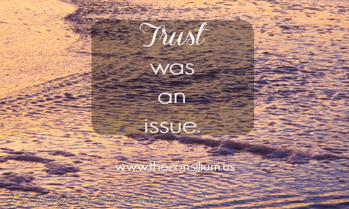 Learning to Trust – When You Need Water In Your Desert